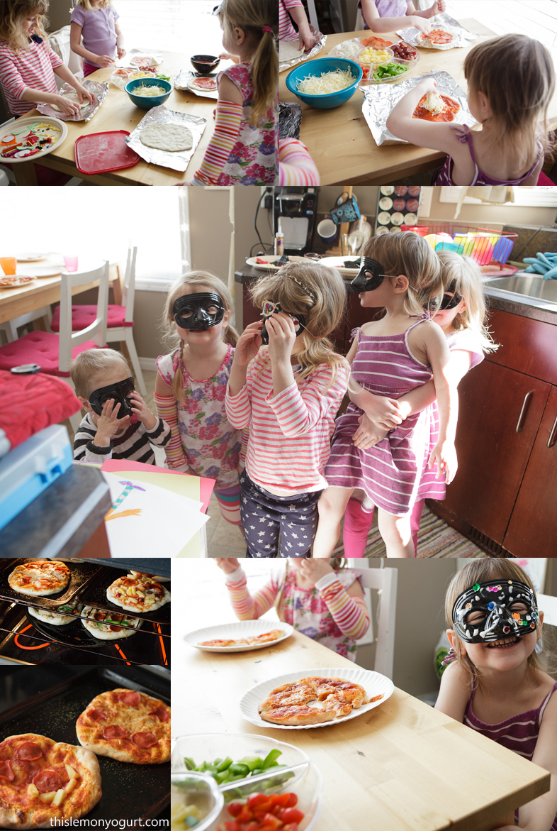 Baby Book Club- Secret Pizza Party {this lemon yogurt}